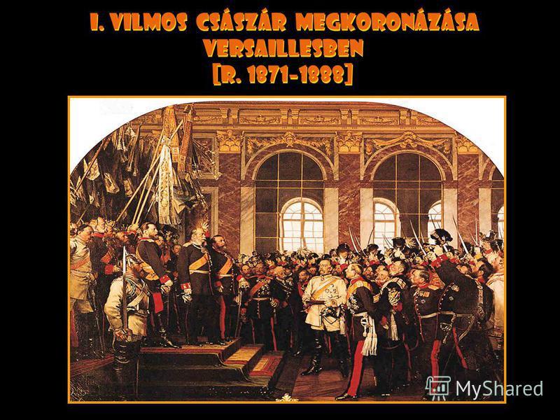 Frankfurti békeszerz ő dés [1871] A második francia birodalmat felváltja a harmadik. Itália csatolja rómát mint f ő várost. Oroszország hadihajókat küld a fekete tengerre, megszegve a párizsi békeszerz ő dést ------------------- Franciaországot a ném