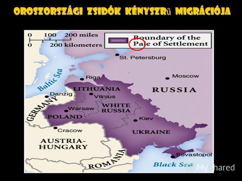 Orosz terjeszkedés kezdet
