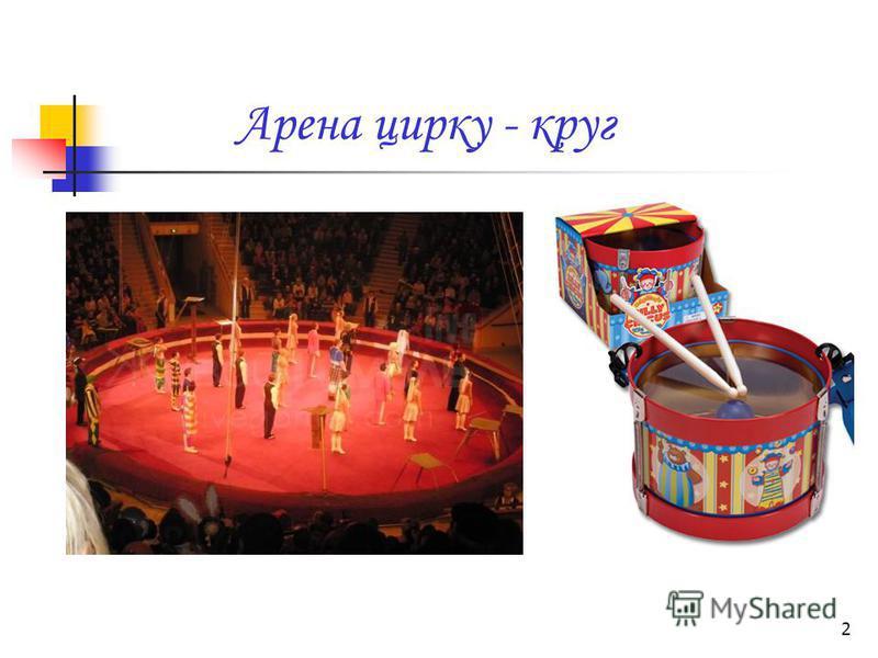2 Арена цирку - круг