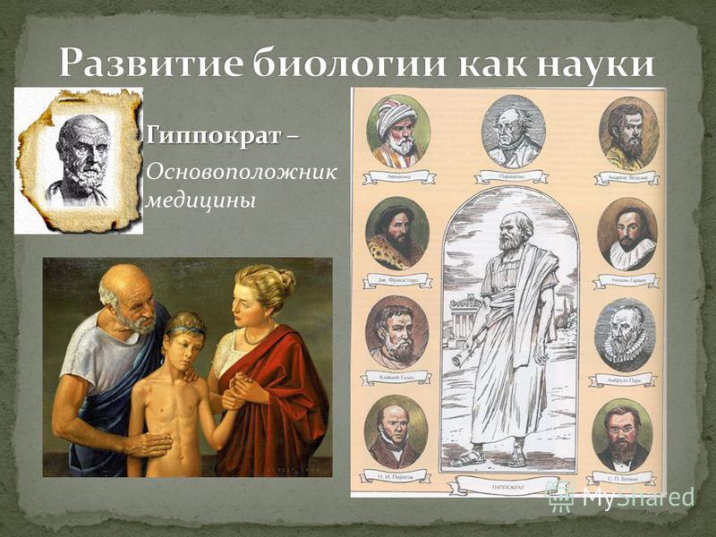Гиппократ – Основоположник медицины