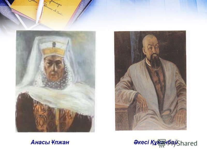 Әкесі Құнанбай Анасы Ұлжан