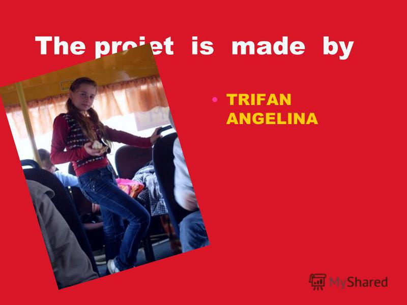 The projet is made by TRIFAN ANGELINA