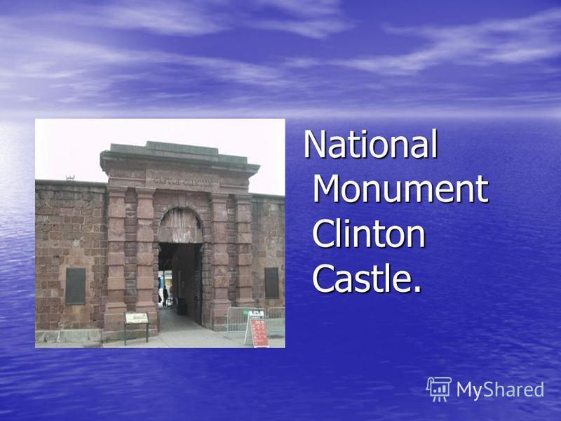 National Monument Clinton Castle. National Monument Clinton Castle.
