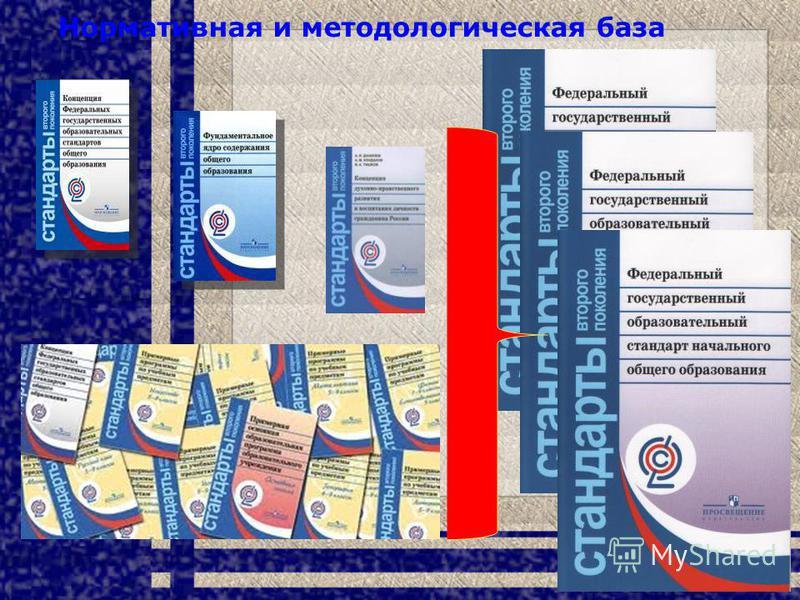 Нормативная и методологическая база 7