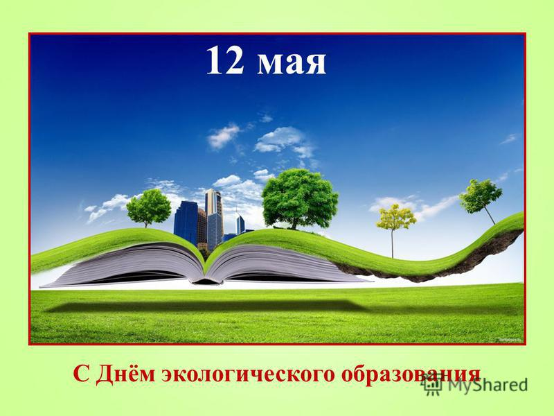 12 мая С Днём экологического образования