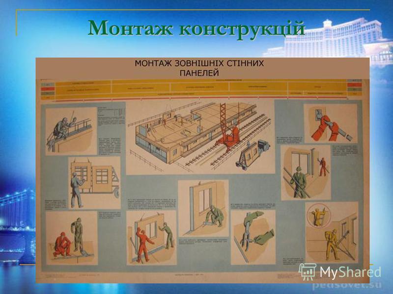 Монтаж конструкцій