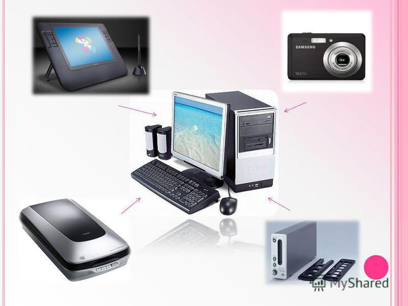 ЗАСОБИ ОТРИМАННЯ ГРАФІЧНИХ ЗОБРАЖЕНЬ Графічний планшет Цифрова фотокамера Слайд – сканер Сканер