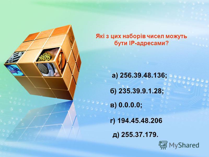 Якщо в IP-адресі старша частина розташована ліворуч, то в доменному імені праворуч. Цю останню частину імені домену називають доменом першого рівня, або суфіксом. 194.158.209.81 www.academy.edu.by