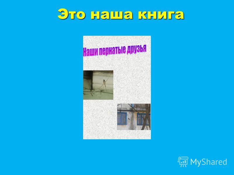 Это наша книга