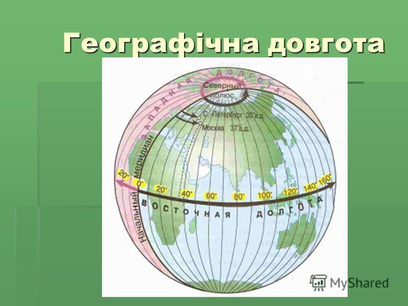 Географічна довгота