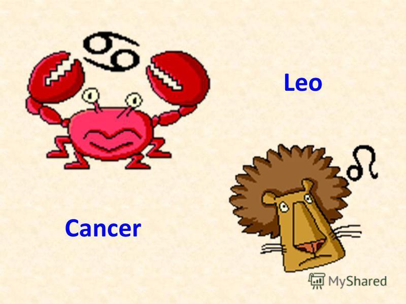 Cancer Leo