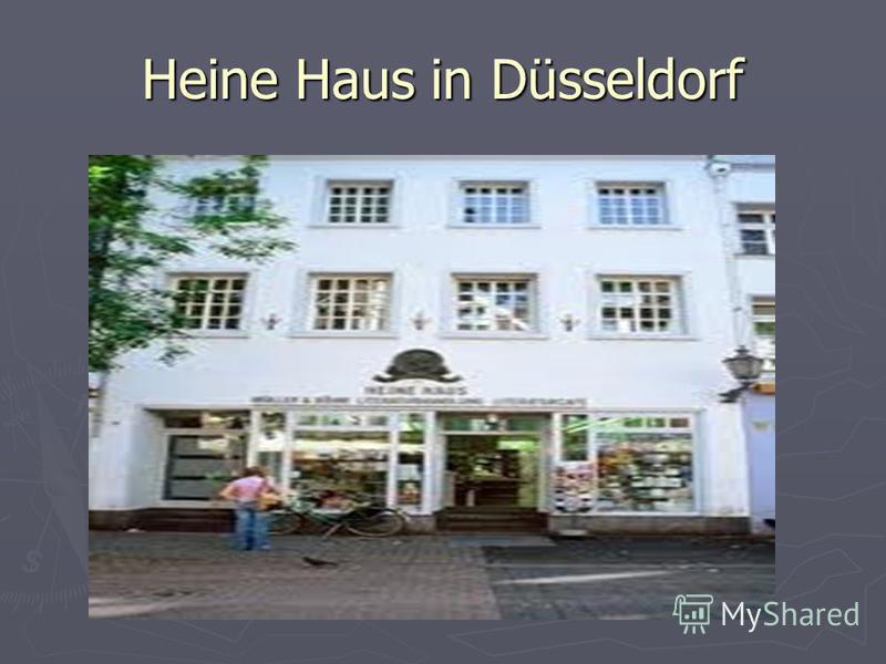 Heine Haus in Düsseldorf