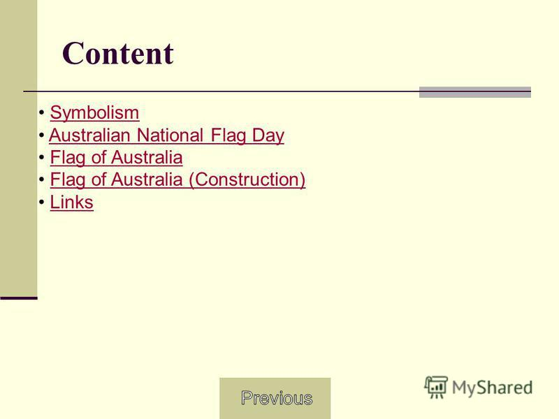 Content Symbolism Australian National Flag Day Flag of Australia Flag of Australia (Construction) Links