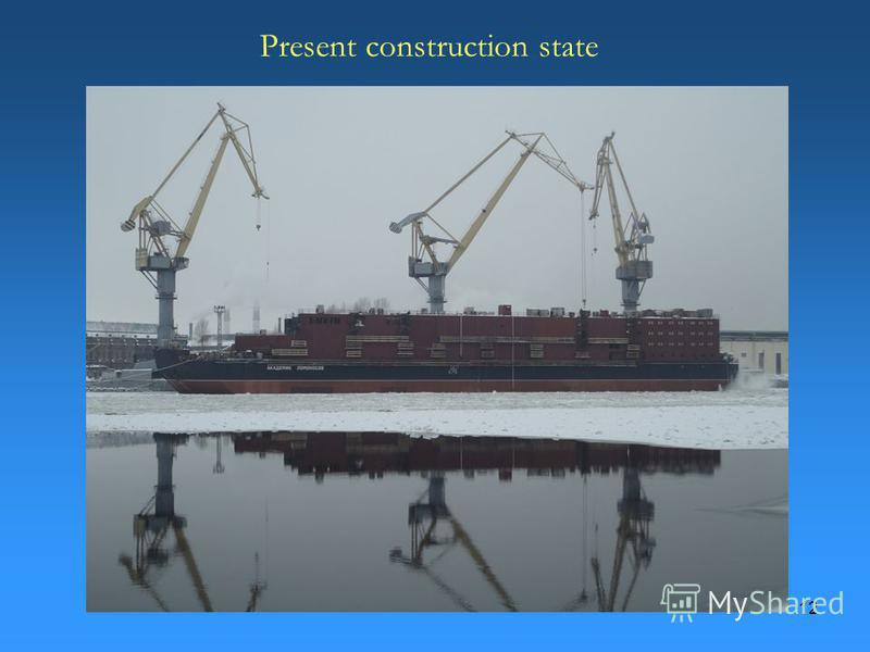 12 Present construction state