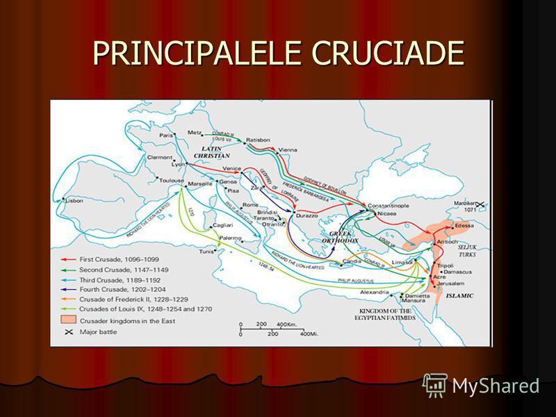 PRINCIPALELE CRUCIADE