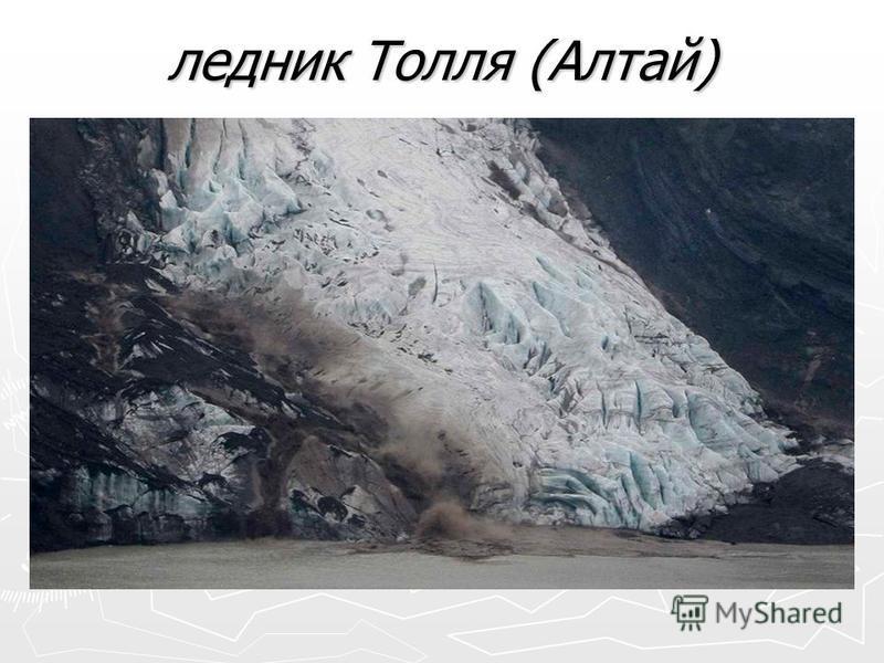 ледник Толля (Алтай)