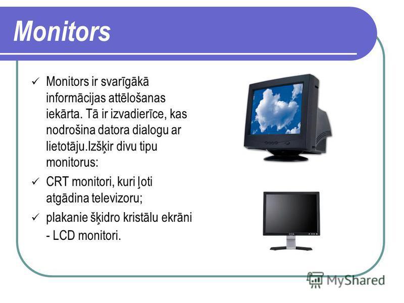 Izvadierīces Monitors Printeri Ploteri Skaļrunis Austiņas