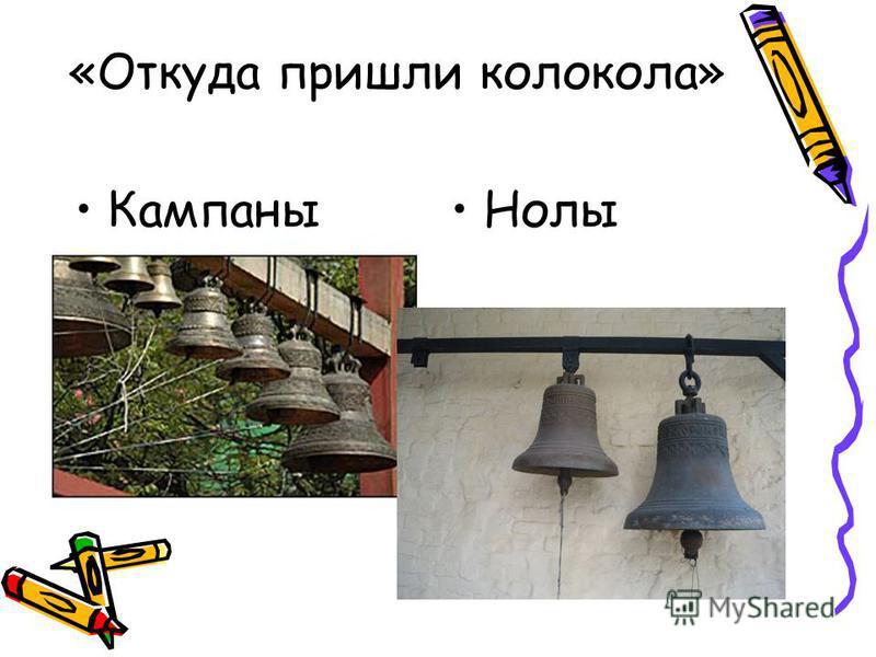«Откуда пришли колокола» Кампаны Нолы