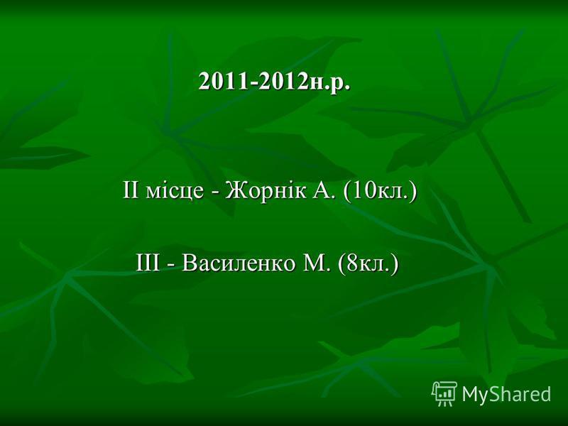Учні – переможці ІІ туру Всеукраїнських олімпіад