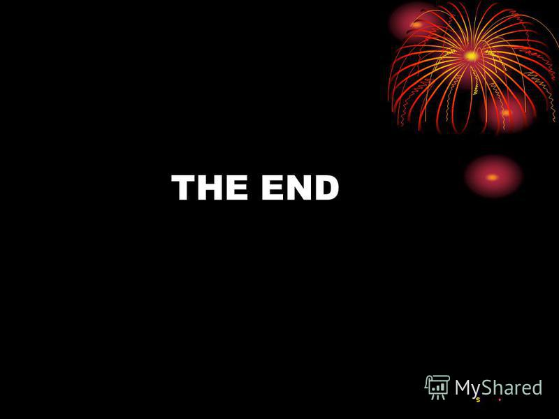 THE END S