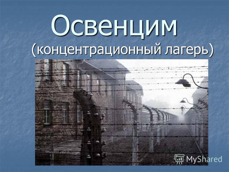 Освенцим (концентрационный лагерь) (концентрационный лагерь)