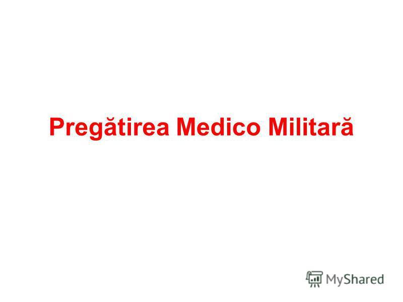 Pregătirea Medico Militară