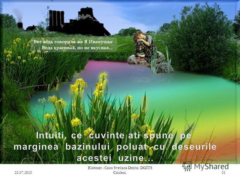 23.07.2015 Elaborat - Caun Svetlana Dmitri. DGÎTS Criuleni. 50