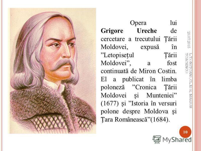L ITERATURA ROMÂN Ă Literatura român ă s-a impus spectaculos în viaa cultural ă a epocii. Una din realiz ă rile cele mai originale ale timpului a fost obinut ă de istoriografie, care a dep ă it substanial faza cronicilor medievale, dînd lucr ă ri tem