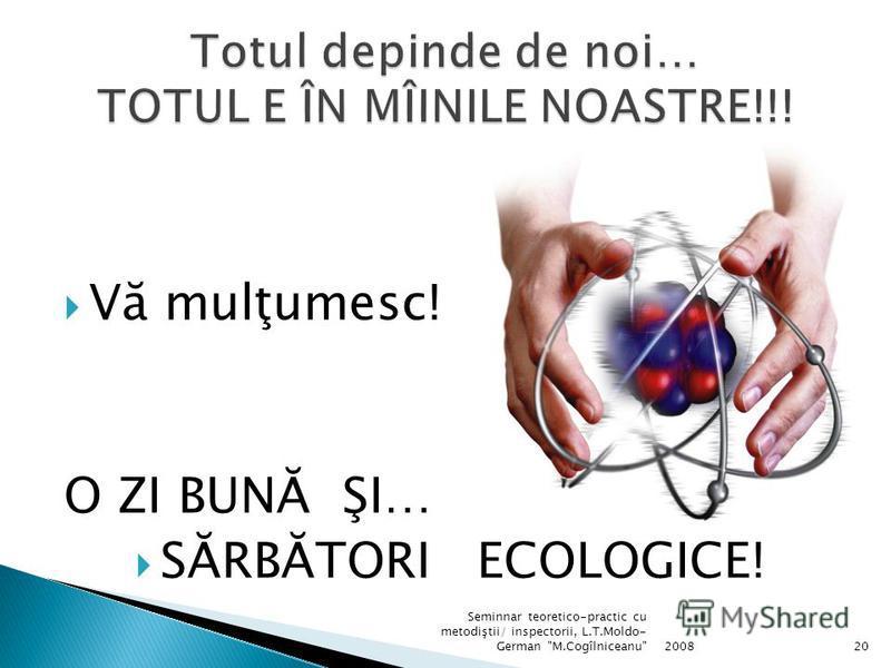 !!! Aceasta nu este o soluţie... 200819 Seminnar teoretico-practic cu metodiştii/ inspectorii, L.T.Moldo- German M.Cogîlniceanu