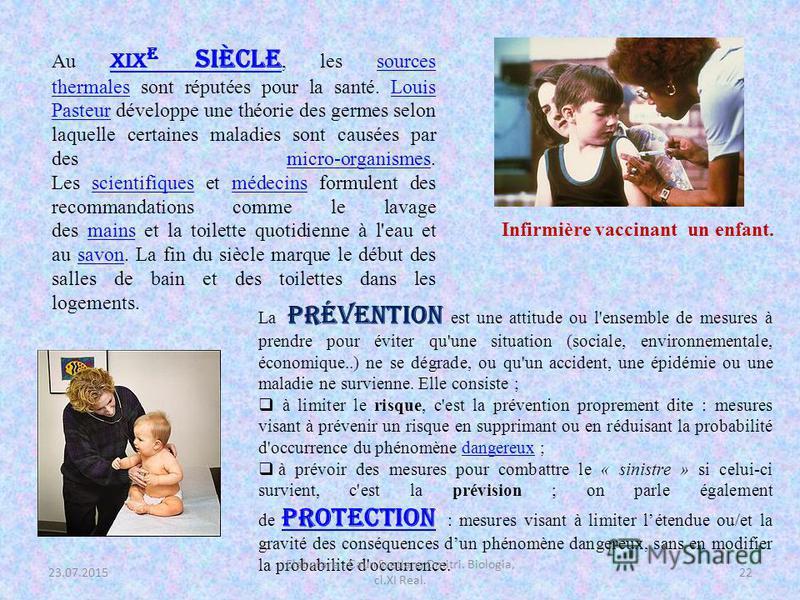 Dans la Grèce antique et la Rome antique, l'hygiène est symbole de santé et se concrétise par exemple par la fréquentation des bains publics. La gymnastique médicinale a été inventée par le médecin Hérodicus de Lentini qui avait constaté les effets b