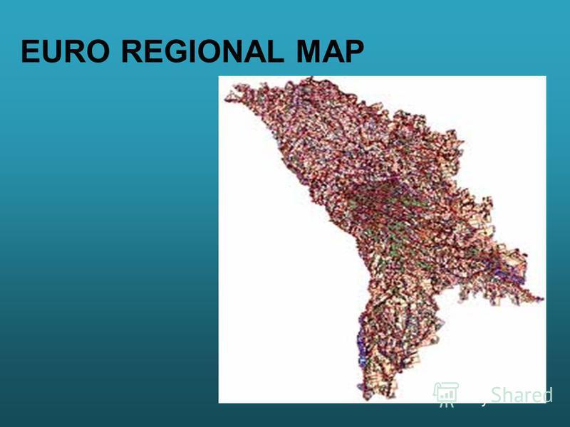 EURO REGIONAL MAP