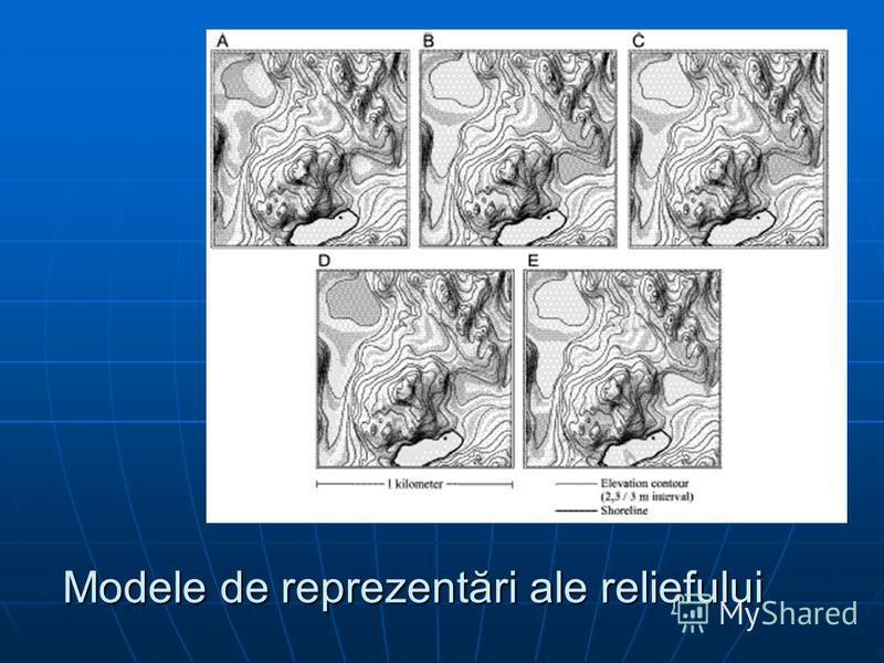 Modele de reprezentări ale reliefului