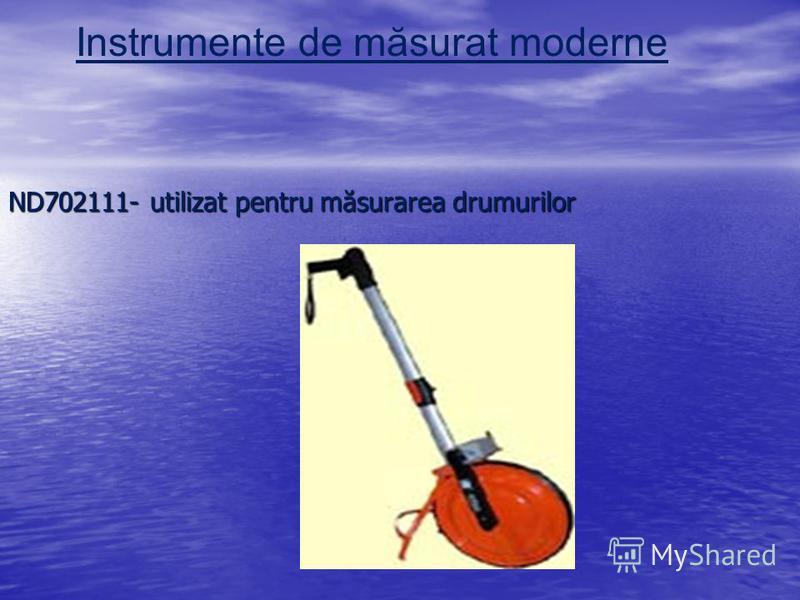 ND702111- utilizat pentru măsurarea drumurilor Instrumente de măsurat moderne