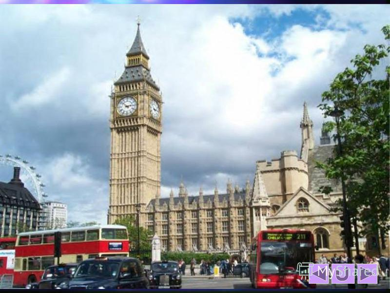 Big Ben is on the easten tower of Westminster Abbey.There is the 13-ton bell on the tower that was heard in 1859 for the first time. The name to the clock was given in honour of the main inspector who worked in Westminster – Sir Benjamin Hall, whose