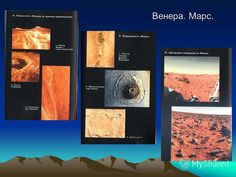 Венера. Марс.