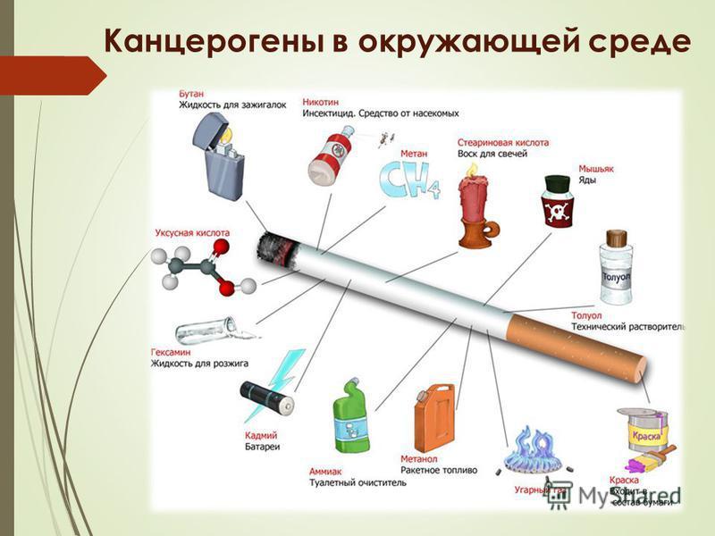Канцерогены в окружающей среде