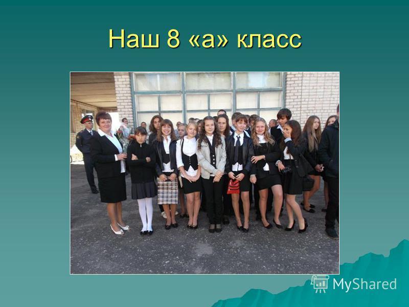 Наш 8 «а» класс