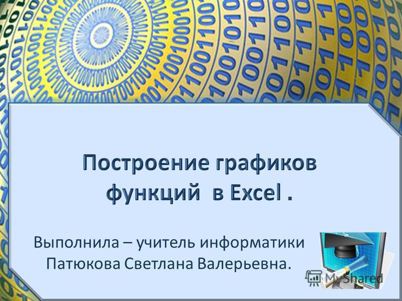 Выполнила – учитель информатики Патюкова Светлана Валерьевна.