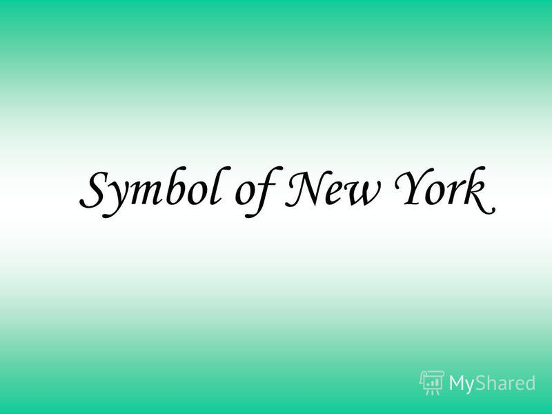 Symbol of New York