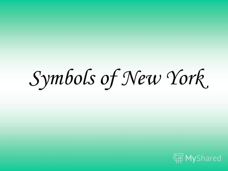 Symbols of New York
