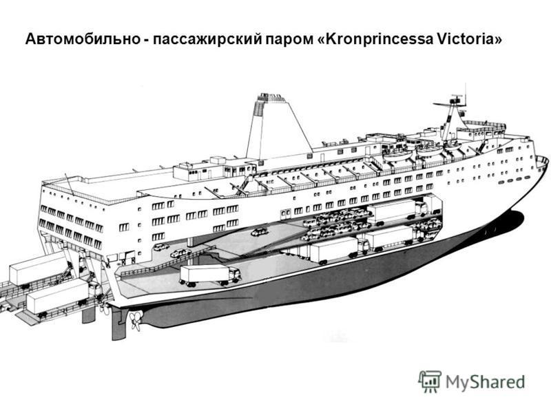 Автомобильно - пассажирский паром «Kronprincessa Victoria»