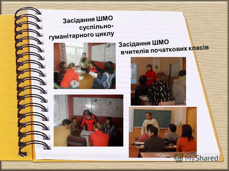 Засідання ШМО суспільно- гуманітарного циклу Засідання ШМО вчителів початкових класів