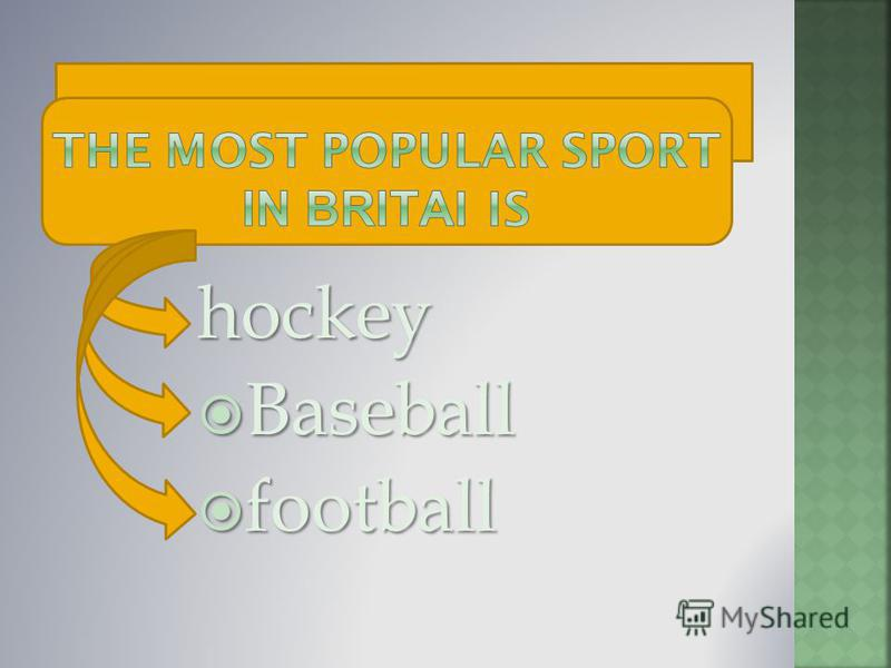 hockey Baseball Baseball football football