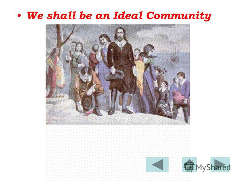 We shall be an Ideal Community