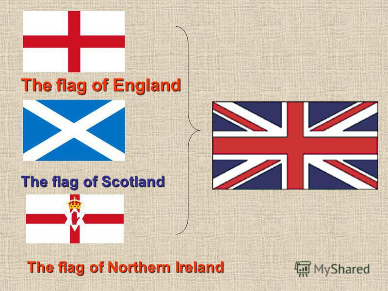 The flag of Scotland The flag ofEngland The flag of England The flag ofNorthern Ireland The flag of Northern Ireland