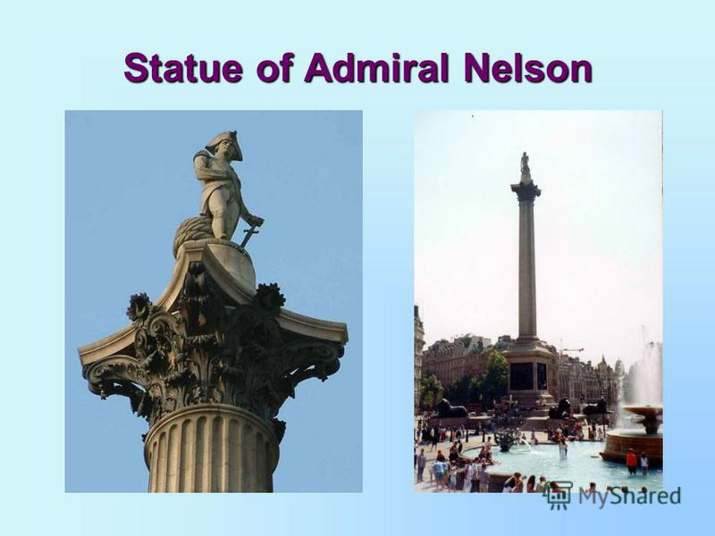 Statue of Admiral Nelson