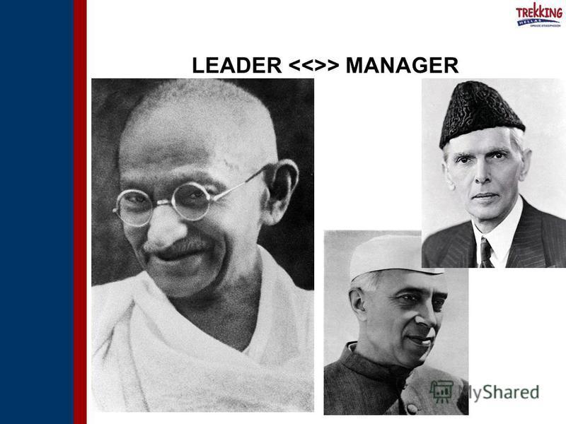 LEADER > MANAGER