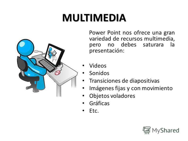 DISEÑO Hay 4 aspectos a considerar: Color Multimedia Letra Viñetas