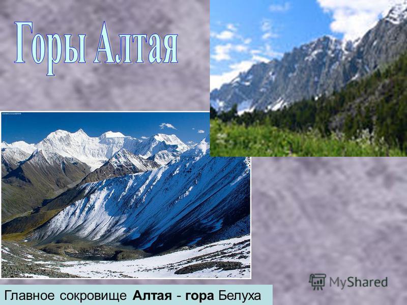 Главное сокровище Алтая - гора Белуха