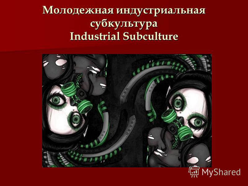 Молодежная индустриальная субкультура Industrial Subculture